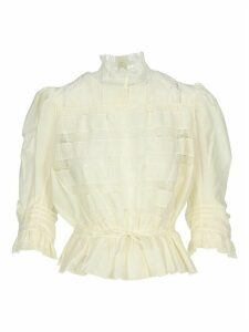Marc Jacobs Lace Panelled Blouse