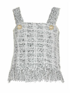 Balmain Top With Fringes