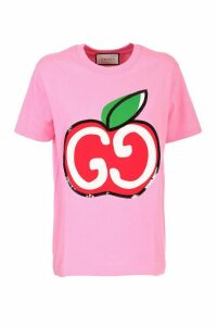 Gucci Pink cotton jersey T-shirt
