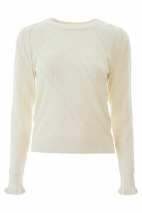 See by Chloé Perforated Sweater