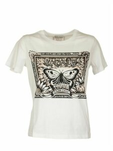 RED Valentino White T-shirt With Print