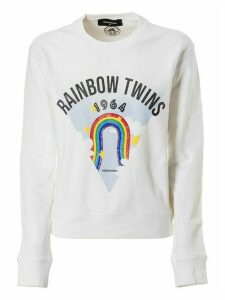 Dsquared2 Rainbow Twins Print Sweatshirt