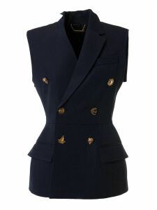 Givenchy Double-breasted Sleeveless Blazer
