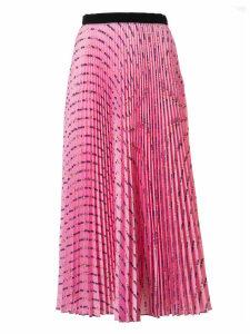 Miu Miu Pleated Long Skirt