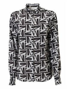 MSGM All-over Printed Shirt