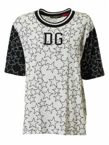 Dolce & Gabbana Star And Logo Print T-shirt