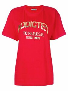 P.A.R.O.S.H. Addicted logo T-shirt - Red