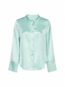 Nanushka Washed Satin Shirt