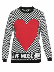 Love Moschino Chess Sweater