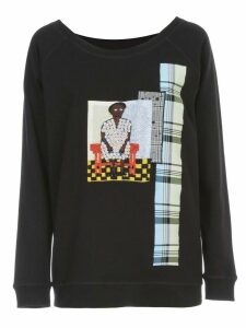 Antonio Marras Sweatshirt Crew Neck W/paillettes