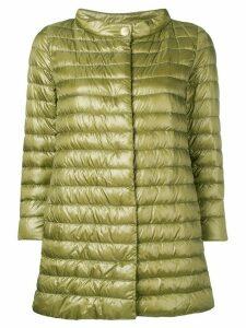 Herno funnel neck padded jacket - Green