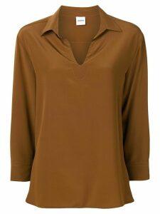 Aspesi tunic style shirt - Brown