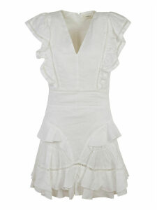 Isabel Marant Mid-length Ruffled Dress