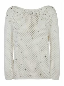 Ermanno Scervino Embellished Detail Sweatshirt