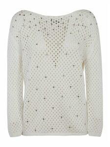 Ermanno Scervino Embellished Detail Sweatshirt