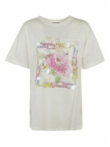 Ermanno Scervino Front Flower Detail T-shirt