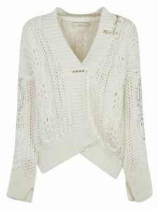 Ermanno Scervino Knitted V-neck Cardigan