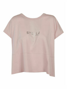 Stella McCartney Oversized Logo Print Top