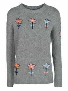 Prada Floral Embroidered Sweater