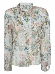 Chloé Floral Print Shirt