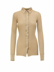 Bottega Veneta Sweater Silk Ribs Top