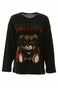 Moschino Bat Teddy Bear Sweater