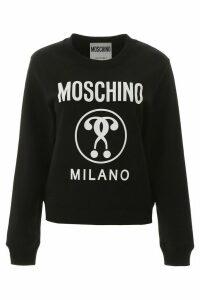 Moschino Moschino Milano Logo Print Sweatshirt