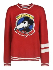 Moschino Mickey Rat Printed Sweater