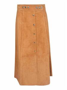 Prada Buttoned Long Skirt