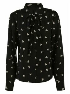 Marc Jacobs Bow Detail Long-sleeved Shirt