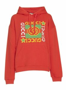 Gucci Hoodie With Gucci Logo Star Print