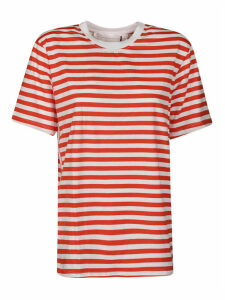 Victoria Beckham Striped Cotton T-shirt