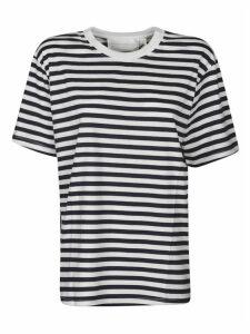 Victoria Beckham Striped Cotton T-shirt