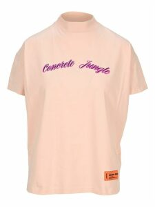 Heron Preston Concrete Jungle Mock Neck T-shirt