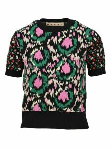 Marni Floral Knit Top