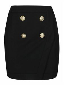 Balmain Short Wrap Skirt