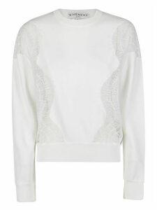 Givenchy Lace Panels Sweatshirt