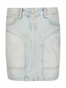 Off-White Zipped Skirt