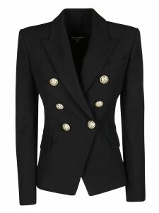 Balmain Double-breated Fitted Blazer