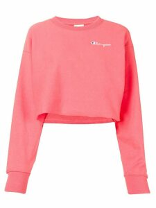 Champion cropped sweatshirt - PINK
