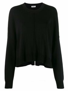 LIU JO loose fit jumper - Black