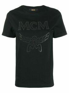 MCM logo printed T-shirt - Black