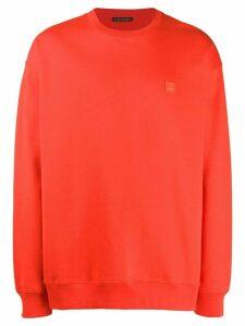 Acne Studios oversized sweatshirt - Red