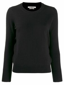 Isabel Marant Étoile crew neck fitted jumper - Black
