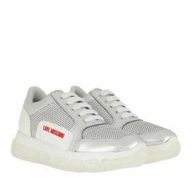 Love Moschino Sneakers - Sneaker Nappa Argento - silver - Sneakers for ladies