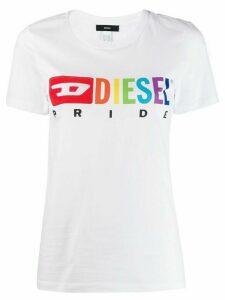Diesel x Pride logo T-shirt - White