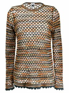 M Missoni knitted jumper - Blue