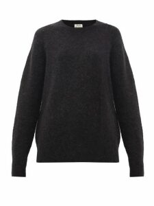 Acne Studios - Kerna Brushed Sweater - Womens - Black