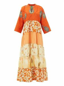 Rianna + Nina - Vintage-silk Kimono Dress - Womens - Multi