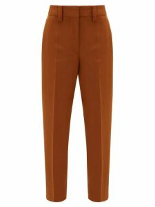 Acne Studios - Str02 Tailored Canvas Trousers - Womens - Brown